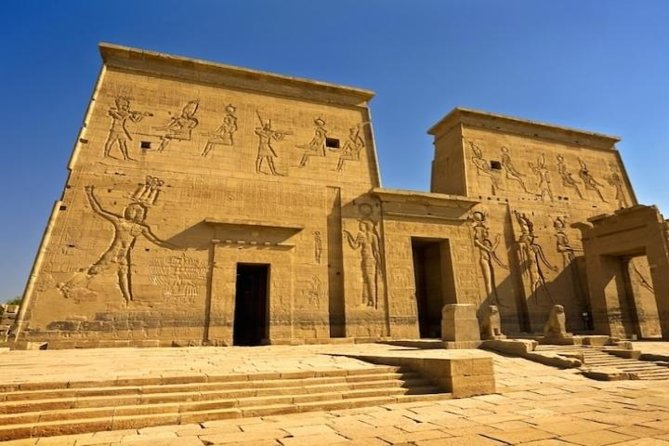 Day Tour to Edfu and Kom Ombo Temples from Aswan by car and enjoy a Visit to Edfu Temple the majestic Temple of Edfu that dedicated to Horus Then continue Your day tour to Kom Ombo Temple that stands on high grounds overlooking The Nile.