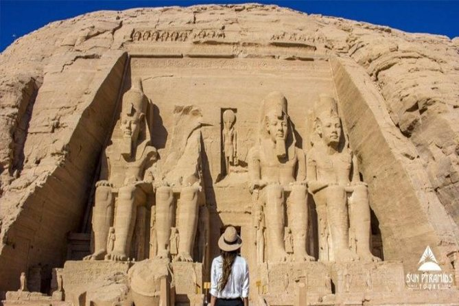 Drive from Luxor to Aswan. Spend the first day visiting Edfu and Kom Ombo Temples, Philae Temple, Unfinished Obelisk and the High Dam around Aswan. Stay overnight and then head to Abu Simbel in the morning before returning to Luxor.
