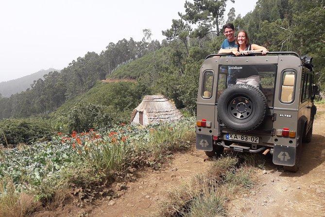 Recorrido de medio día para grupos pequeños en vehículos 4x4 por Poncha, las montañas y los viñedos, safari por Cabo Girão, Funchal, PORTUGAL