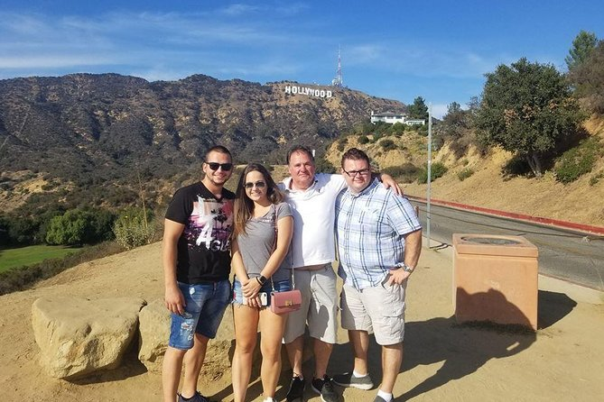 Experience the very best of Los Angeles with an expert tour guide while riding in aluxuriousvehicle on this 6 hour private and custom tour. You will beimmersed in the history, culture, and excitement of LA. Snap a pic with the Hollywood Sign, walk along Venice Beach, drive down Rodeo Drive, fit your hands and feet in the famous impressions on Hollywood Blvd, play on the Santa Monica Pier, catch celebrities and drive by their homes, and so much more. Choose our standard itinerary or customize your own for an additional cost!This is the best way to way to experience LA with a private guide and vehicle. Pick up and drop off at your hotel is included inside LA County. Extra charge for pickup outside of LA.