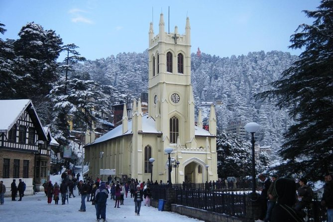 At a height of 7,200 feet, Shimla was once the summer capital of the British in India. Besides being known for its scenic beauty, the town is also home to several heritage buildings that are best explored on foot. In this Heritage Walk discover the charm of a bygone era as you walk past some of the well preserved structures of this town.<br><br> Highlights<br> • Christ Church <br> • Gaiety Theater <br> • Bantony <br> • Gorton Castle <br> • Viceregal Lodge