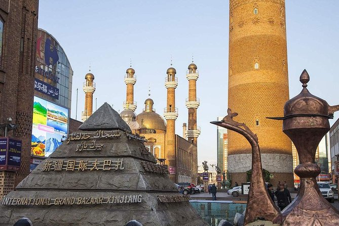 This private daytour giveseverybody the opportunity to explore the soul of the Urumqi city.Accompanied by atour guide,your tour will start with the visit of the Red Hill where you can enjoy thebirds view of the Urumqi city.Thenyou will visit the Xinjiang Uyghur Autonomous Region Museum to see archeological treasures from the Silk Road and Xinjiang's minority cultures.Your tour will end with a visit to the Erdaoqiao Grand Bazaar where you can purchase your souvenirs. A delicious Uyghur lunch near the ErdaoqiaoBazaar is also included.