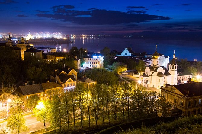 Enjoy the evening stroll through Nizhny Novgorod. The nocturnal excursion in Nizhny Novgorod takes you to know the most vivid and remarkable places of the city after dark.<br><br>If you like the atmosphere of the night city, you will definitely be satisfied with this tour.