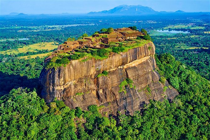 Private Day Tour from Kandy to Sigiriya,Pidurangala Rock with Cave Temple, Sigiriya, SRI LANKA