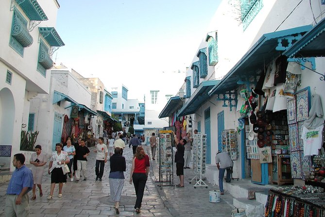 Embark on a guided walking experience of Sidi Bou Said, the amazing city of blue and white, very beautifully preserved! Also visit the historic city of Carthage, the Punic port, amphitheater and cathedral on this half-day tour!