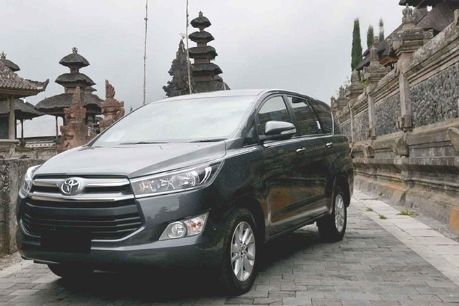 Hire car in Bali using Innova with comfort and clean vehicle. Route can be custom with your need as your vacation here. Make sure you know where your direction in Bali before doing reservation is and if you are confused the driver is happy to provide information on some places that are worth visiting.<br><br>Rental car is included with petrol and driver. Guest could pick the choice range of time to start from 08:00 AM to 11 AM and the duration chauffeur is calculated 9 hours later from the time of pick up.<br><br>Highlights:<br> • See Bali with no tour groups, no itineraries, and no schedules - a private Bali car charter is the best value way to see the island of the gods at your own pace! <br> • Plan your own perfect day: take in the best spots, restaurants, spas, and activities on the island! <br> • Most Bali itineraries and tours can be arranged with your private car and driver, so mix and match to your heart's content