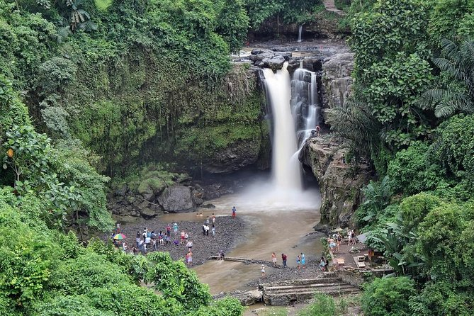 Private Full Day-Tour: Ubud Village, Waterfall and Kintamani Volcano Tour is popular tour packages with wonderful experience that we design for your holiday in Bali Island. The tour will start at 08.00 AM from your hotel then we will drive you to visit Tegenungan Waterfall which is located in the southern part of Ubud and the place is just surrounded by magnificent palm trees. Then we will take you to visit Tirta Empul Temple, famous for its holy water where Balinese hindu people go for purification. Our next destination is to visit Bali Coffee Plantation. Our next trip is to visit Kintamani Volcano where you can have your lunch in one of a restaurant with view of volcano and lake batur. then the trip is visiting Tegalalang Rice Terrace famous for its best destination in Ubud, next destination is visiting Ubud Palace which is known as Gianyar Royal Palace and the last destination is Ubud Market. The tour will be very comfortable with our private air conditioning car transfer.