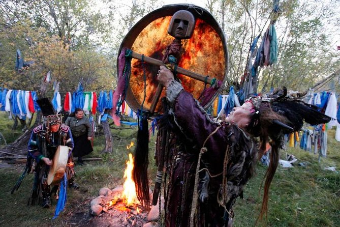 During this tour you'll be taken to a traditional Buryat village Ust-Orda in 70 km from Irkutsk. The excursion will give you a chance to get acquainted with Buryat folklore, national games and shaman rites, as well as to taste the national dishes of Buryat cuisine.<br><br>• Departure to Ust-Orda Buryat settlement, 70 km from Irkutsk<br>• Visit to the Ethnographic Museum in Ust-Orda<br>• Meeting with the Shaman. The rite of purification<br>• Traditional lunch – dishes of Buryat cuisine<br>• Guaranteed skip-the-line entrance