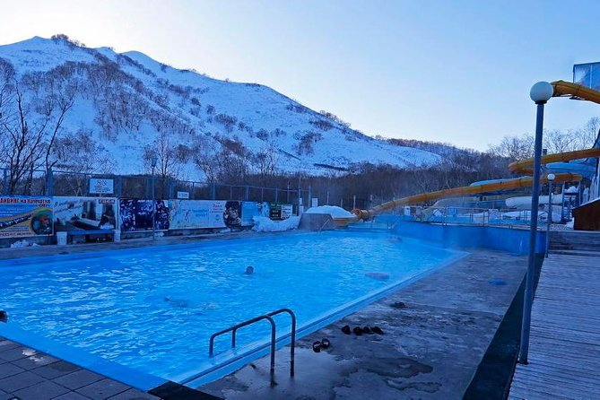 "Have you ever taken a thermal hot spring bath (both wild or SPA like)? Here is your chance. The ""Paratunka"" resort is located in the river valley and easily reached by car from Petropavlovsk. It is quickly recognized from a distance because of the clouds of steam from hot waters of the springs. It is particularly picturesque in the winter. The hot waters of springs are full of minerals useful for health improvement. Many local residents come to the springs on regular basis to relax in the open air swimming pools (winters including) or simply take a walk and enjoy the beauty of surrounding nature. Bring your bathing suits and swim in the hot springs-fed pools. Bring your own lunch or can eat at the local cafe.<br><br>• Guaranteed skip-the-line entrance"