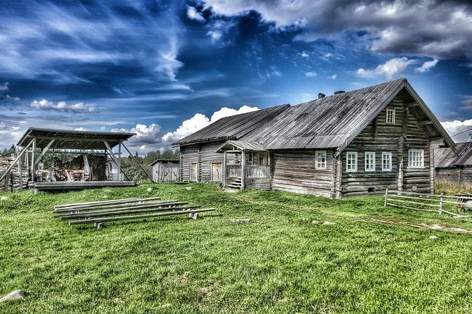 We offer ethnographic tour to see the places in republic of Karelia, where the old traditions, customs and mode of life of Karelian villages are still kept.<br><br>Kinerma is an ancient Karelian village situated 100 km from Petrozavodsk. You'll be taken to the village by car/bus, have a look around the village. <br><br>Kinerma village represents a unique complex of national wooden architecture peculiar to the Karelian-livviki which includes a rural chapel of the Smolensk God's Mother dated of the second half of XVIII century, surrounded by an ancient cult fur-tree grove, country houses and sauna houses. You will have a hiking excursion in the village, visit an exhibition telling about the history of the village and have a traditional tea ceremony in the Karelian wooden house, where you will be able to try traditional Karelian bakery.