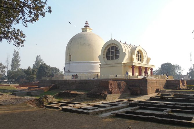 "A tour to the holy place of ""Kushinagar"" which is the place where Lord Buddha passed away at this place near the Hiranyavati River. Many of its stupas and viharas date back to 230 BC-AD 413.  543 BC. The excavations has revealed some antique artifacts and structures related to all sects of Buddhism. Kushinagar also expresses the common thread of all sects of Buddhism through its magnificent Viharas, Chaityas, temples and Tibetan monasteries.<br><br>"