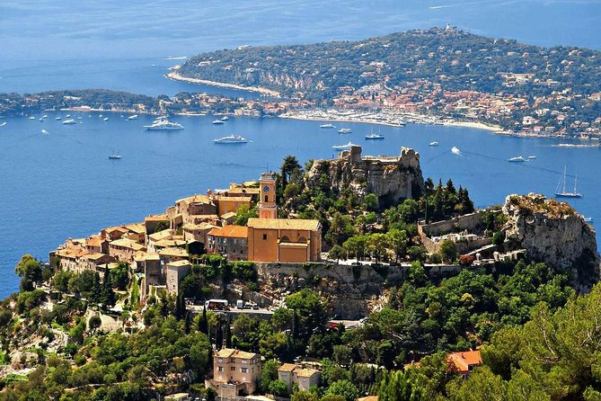 In this 8 hours full day private tour, you will discover the lovely medieval village of Eze and - if you wish -  its famous Fragonard perfume factory,  you will see Monaco and Monte-Carlo, and also visit Cannes and the beautiful St.Paul