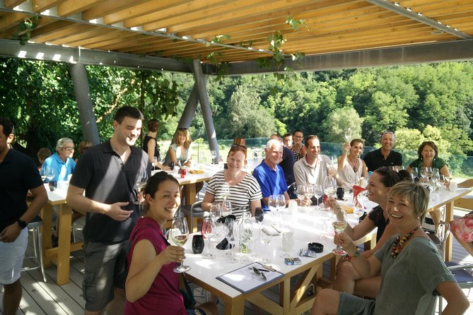 """Come and join us on the tour of the vineries of Istria, Croatia. We will take you to some of the most beautiful wine cellars in Istria, tasting up to 5 wines in each vinery and enjoying some breathtaking views of Istrian countryside. Our groups are small, up to 8 people, giving the """"private"""" tour feel. The pick up will be at your accommodation and the tour lasts up to 7 hours. The wines tasted at the wineries are all representative of the area of ISTRIA, so red wines are made from Teran, Refosk, Merlot and other red grape varieties. You'll also have the opportunity of tasting a Malvazija Istarska at each winery."""