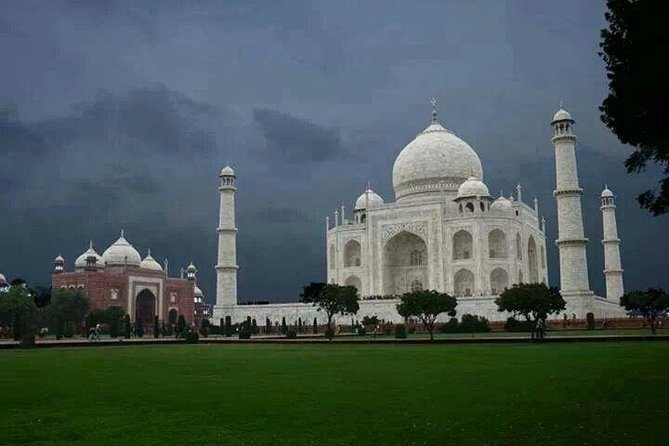 Early morning pickup at 4am approx from your Hotel or Anywhere in Bangalore and Depart to Airport in Bangalore Fly to Delhi and drive to Agra. Visit Taj Mahal and Agra Fort. After Agra Sightseeing driver to Delhi and depart at Delhi Airport flight to Bangalore. Arrival Bangalore airport and drop at your Hotel in Bangalore.