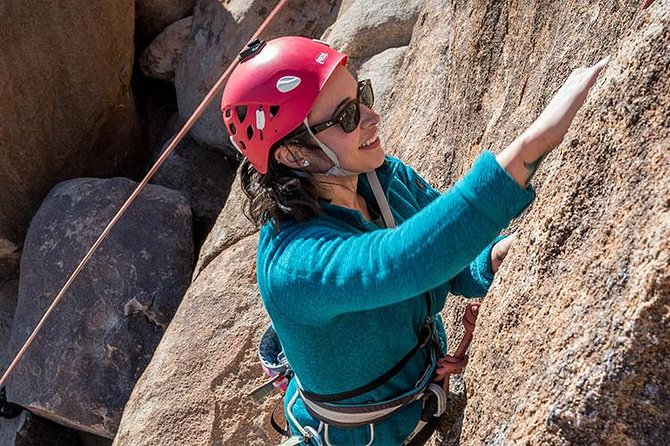 Are you a beginner or intermediate rock climber looking to have a fantastic time sampling the excellent rock climbing routes in Joshua Tree National Park under the careful watch of an experienced and certified rock climbing guide?<br><br>Maybe you have a family with kids who absolutely love rock climbing?<br><br>Or perhaps you are an experienced climber looking for a partner to climb as many rock climbing routes as possible during your trip?<br><br>Regardless of your experience level, desires or goals there is a fantastic rock climbing trip ready and waiting for you!!! The 4-Hour Trip is great for people who want to focus on rock climbing. Typically, we keep the approaches short and visit only 1-2 rock formations so that we spend the bulk of your trip climbing as many routes as possible!