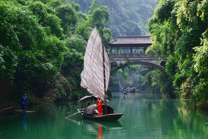 Welcome to Yichang,China!As you know,China is a multi-ethnic country,we have 56 minorities,one of the minorities in Yichang-Tu minority,if you want to know their culture,how life used to be,how beautiful scenery their,come to the Tribe of the Three Gorges.