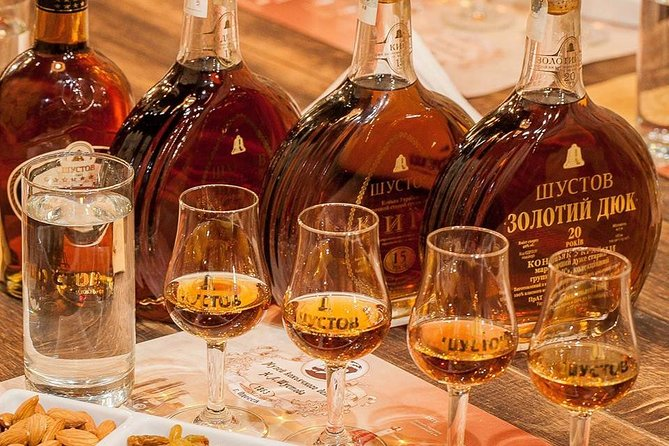 Shustov Cognac Winery Museum Tour with Tasting in Odessa, Odesa, Ucrânia