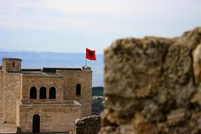 HIGHLIGHTS:<br><br>Skanderbeg Museum and the Old Bazaar in Kruja<br><br>Lunch in Preza Castle with the valley of Tirana and Kruja as the view<br><br>Durrës's City Walls, street – art and the Venetian Tower<br>
