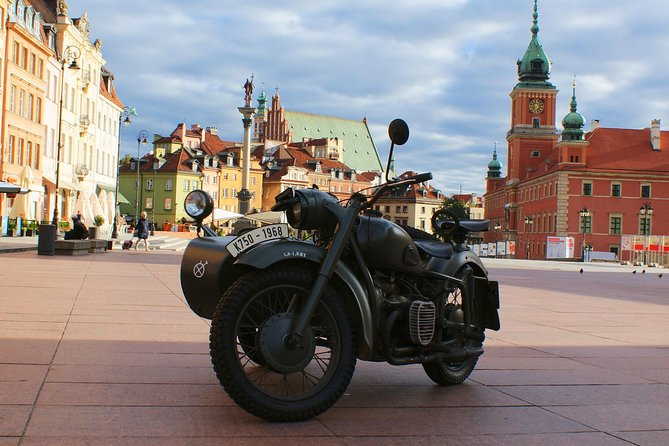 New&Old Praga Vintage sidecar motocykle trips & visit Warsaw, unique attraction!, Varsovia, POLONIA