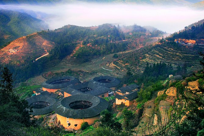 Private Day Tour: Nanjing Tianluokeng Hakka Cluster From Xiamen, Xiamen, CHINA
