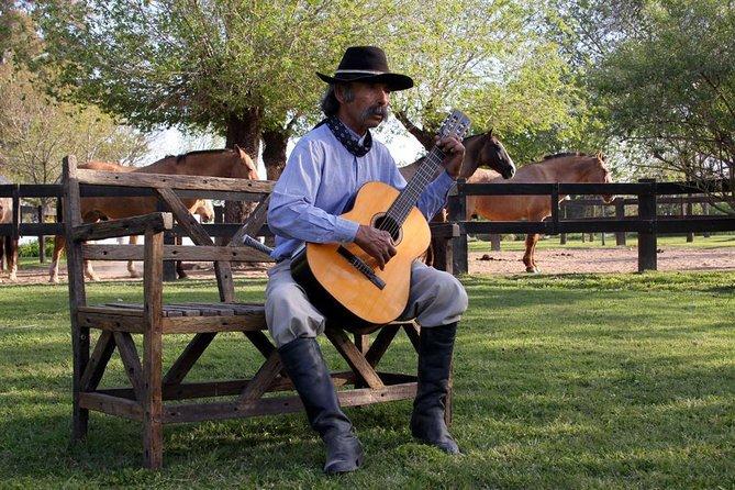 Día gaucho para grupos pequeños en una granja en San Antonio de Areco, Buenos Aires, ARGENTINA