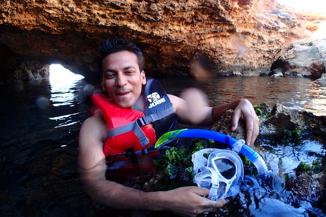 Boat Trip and Snorkeling Beach and Cave Tour in Ibiza, Ibiza, ESPAÑA