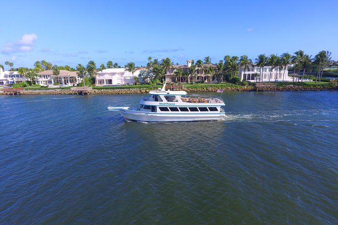 Spend your weekend aboard the Island Princess. Enjoy a two-hour cruise along the St. Lucie River with your experienced captain whose many years on the water make him an excellent resource and dedicated narrator! You can definitely learn something from him as he points out exciting sights and exotic wildlife like dolphins, manatees, turtles and more. Get ready to take lots of pictures of the beautiful St. Lucie River. This cruise is great for those who don't want to spend the whole day on the water. You can still get a glimpse of all the Stuart, FL scenery while making plans for later in the day. An Island Princess cruise is the best way to get acquainted with the St. Lucie River. Join us today!