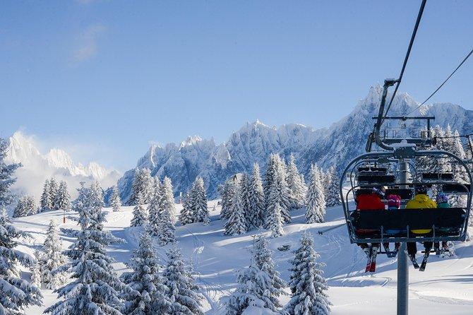 Chamonix Skiing day from Geneva, ,