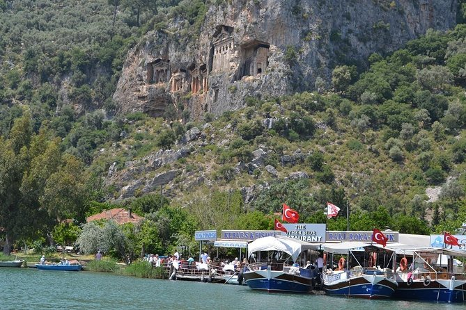 Dalyan Day Trip from Fethiye Including River Cruise, Mud Baths and Iztuzu Beach, Fethiye, TURQUIA