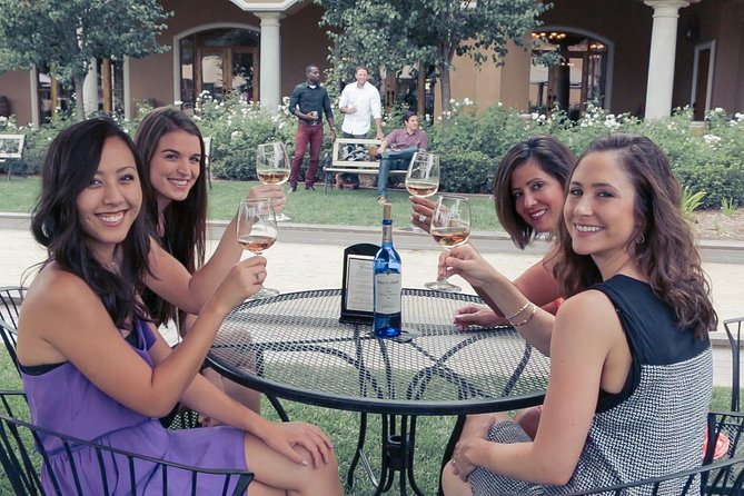 Grapeline's Inclusive Wine & Picnic Tour is a full-service day in wine country. Leave everything to us! Your tour package will provide; Complimentary pick up from most local hotels, three winery visits (wine tasting fees covered by Grapeline), an artisan boxed lunch catered by Sonoma Market and hosted transportation with a Grapeline guide. The only thing not included is gratuity for your host, which is customary but discretionary.