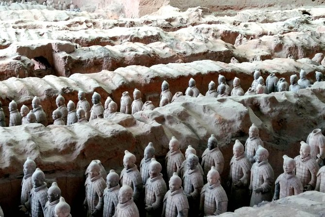 This private one-day tour offers an extraordinary opportunity to take a round-trip flight to Xian from Shanghai. You will tour the Terracotta Warriors Museum, Xian City Wall and the Muslim Quarter in one day to experience and learn about Chinese history in this historical city. Shanghai centrally located hotel pick-up and drop-off are included as well.