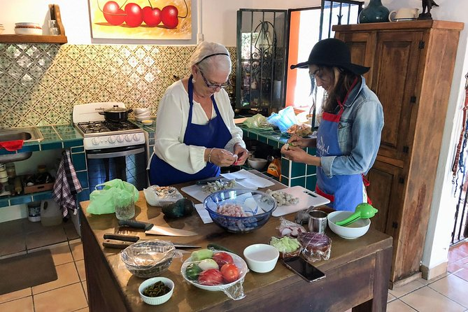 Private Market Tour and Cooking Class with Helene, a Local in Puerto Vallarta, Puerto Vallarta, Mexico