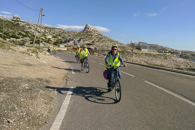 Electric Bike Tour to the Calanques from Marseille, Marsella, FRANCIA