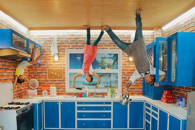Strike a pose in this fun indoor activity, where everything inside the seven rooms you enter, is not as it seems. Prepare to be amazed, and create some pretty wacky off the wall poses in this trick of the eye experience.