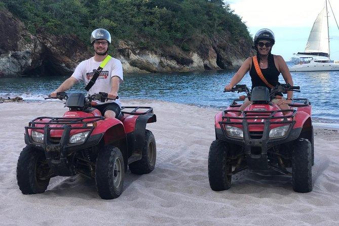 Excursión en todoterreno y tirolina desde Playa Flamingo, Playa Flamingo, COSTA RICA