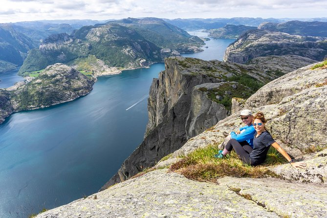 Preikestolen off the beaten track hike, Stavanger, NORUEGA