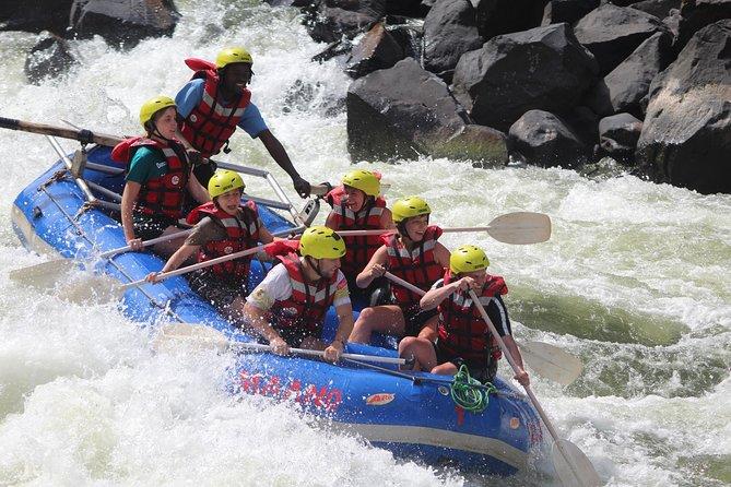 Full Day: Zambezi Whitewater Rafting 1-25, Livingstone, ZIMBABUE