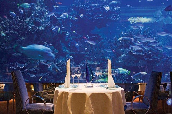 Ресторан в аквариуме дубай снять дом в испании на долгий срок