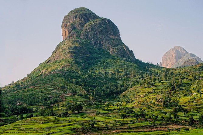 The Simien mountains is one of the finest places to see. It offers multiple panoramic views,floras ,fauna & also endemic birds ! This is why the Simien mounain is registered under UNESCO in the year 1978.