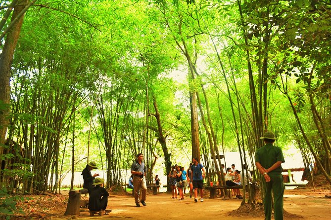 This Cu Chi Tunnels tour will give an introduction about the historicCu Chi Tunnelsand its role during the war. Take a chance to explore the system of tunnels deep underground, famous after war, and learnhow the layoutwithstood the destructive power of the bomb attack most of the US military.