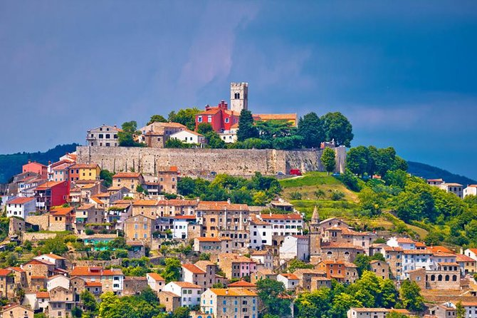 Experience and taste the highlights of Istria while visiting Hum - the smallest city in the world, Motovun - the most attractive medieval town of Istria and Labin - the city of artists.