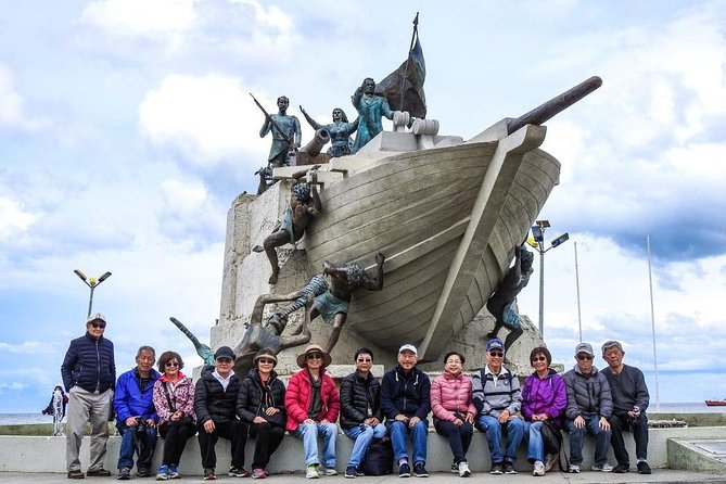 "Relive history with an exploration of the Punta Arenas city on a day tour from the cruise port or your hotel. Select from 3-hour and 6-hour options at booking. (6-hour option includes a trip to the first Chilean settlement, Fort Bulnes). Your guide will bring you between the sites and tell you about the influential people who built the city. Visit the Magallanes Regional Museum, and the Nao Victoria Museum, where you can interact with replicas of historical ships, including the first ship to circumnavigate the world, Victoria. At the Plaza Munoz Gamero, you'll see key landmarks and have a  chance to rub ""the Indian's foot"" for good luck. Tour includes snack and glass of Chilean wine  as well as round-trip transportation and is led by a multi-lingual guide."