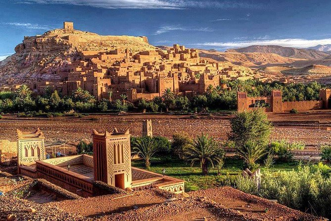Day Trip From Marrakech to Ouarzazat Visiting Ait Ben Haddou Kasbah_Shared Group, Marrakech, Morocco City, Morocco