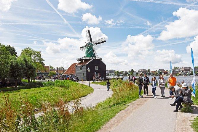 Excursão de meio dia saindo de Amsterdam para Zaanse Schans: moinhos de vento, Museu do Tamanco e fazenda de queijos, Amsterdam, HOLANDA
