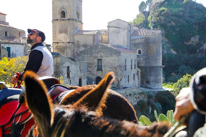 Godfather donkeys tour and a medieval village of Savoca between art and culture, ,