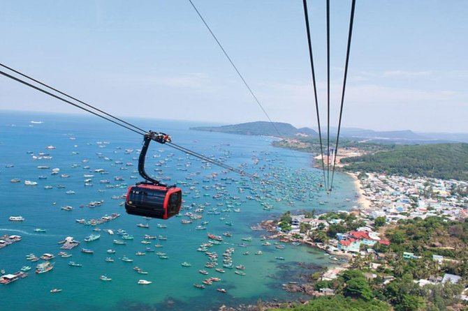Join Phu Quoc full day with Cable Car & 3 islands, you will have opportunity to see an amazing view of the sea from sky on the longest cable car system of the world. Moreover, you take part in many exciting activities including snorkeling - swimming - fishing. Come and join us right now.