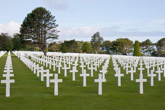 Take a one day trip from Paris to see the American sector of the Normandy landing beaches.  Leave Paris in the morning via rail and meet your guide in Caen (the capital of the Normandy region). Essential historical background is covered in your morning at the Memorial de Caen museum, where you also have a 3 course lunch featuring local Normandy ingredients.   The afternoon features an excursion via minivan to see Arromanches Harbor, the Pointe du Hoc, and the American cemetery and visitor center and Omaha Beach.