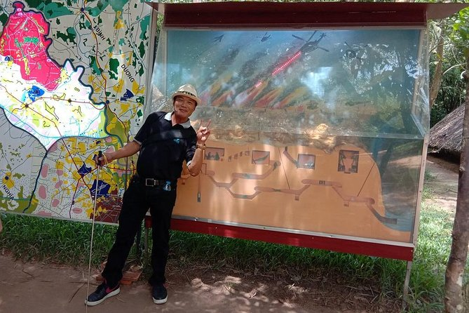 Private Cu Chi Tunnels Half Day Tour, Ho Chi Minh, VIETNAM