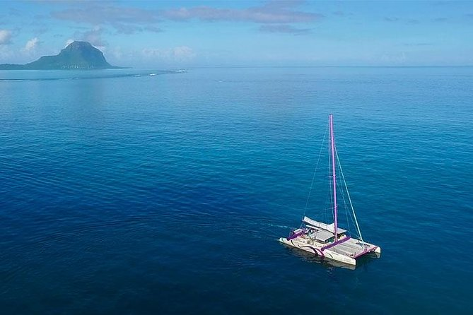 Discover Mauritius in a unique way through a bundle of a day of fun, good times and joy with your friends or family on the West Coast. This cruise offers the exceptional opportunity to see the dolphins and dive in the crystal clear waters of Le Morne.appreciate the magnificient view of ile Aux Benitiers and also Black River. <br><br>Highlights: <br> • Possibility of encountering dolphins. <br> • Boat specially designed for ''Day Charter'' activities with a large capacity. <br> • Trained crew is at the disposal of the clients. <br> • Spectacular view of the Black River Mountain Range.