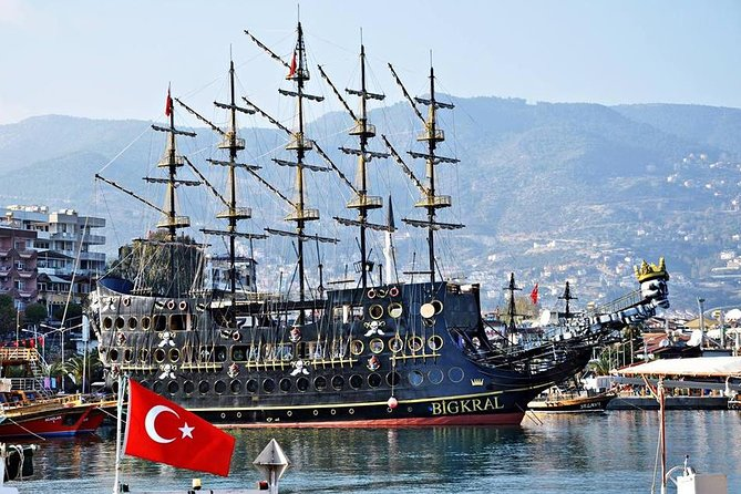 MÁS FOTOS, Pirate Ship with Alanya City visit with lunch and drinks